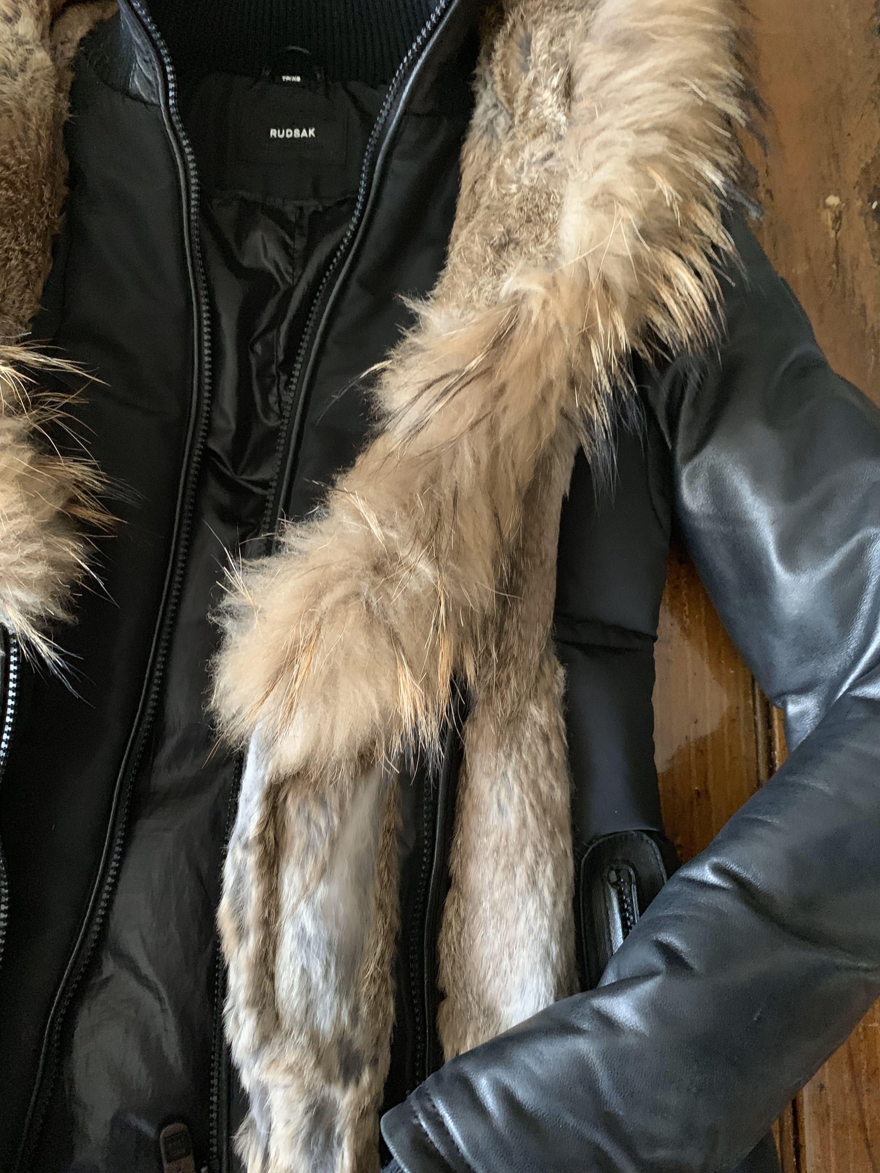 XS RUDSAK Fur Winter Coat