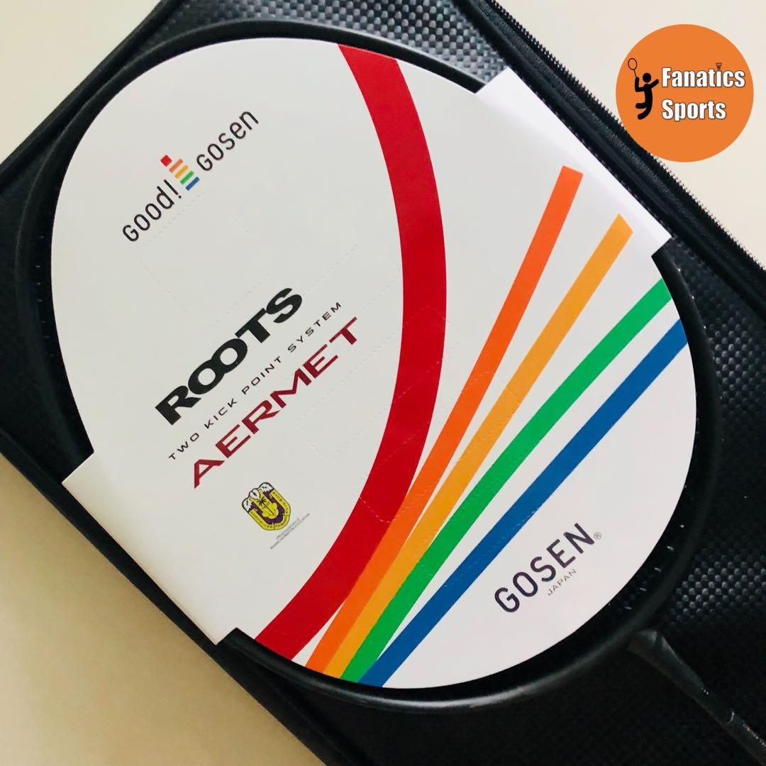 [CRAZY SALE] Brand New Gosen 20th Anniversary Roots Aermet Chronicle Limited Edition Badminton Racket