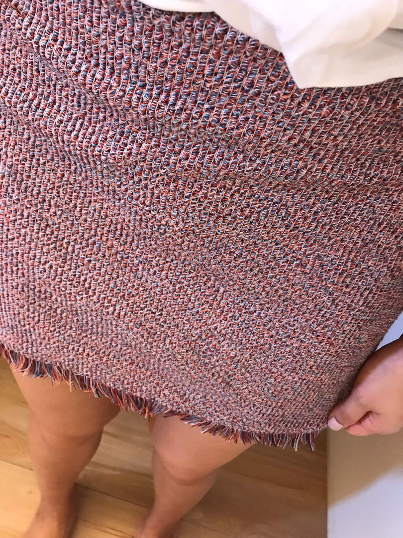 Zara 針織彈性短裙