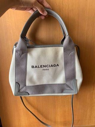 Balenciaga巴黎世家帆布側背手拿包