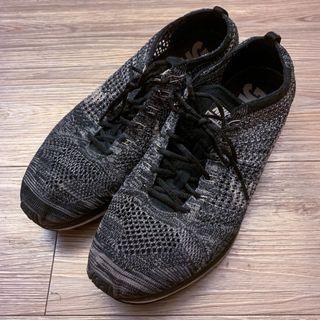Nike racer flyknit oreo US12 *二手* 編織慢跑鞋