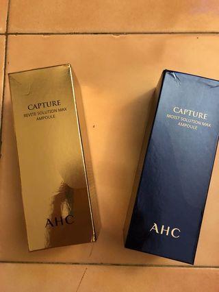 AHC 逆轉時空安瓶精華液 50ml(保濕+抗皺)
