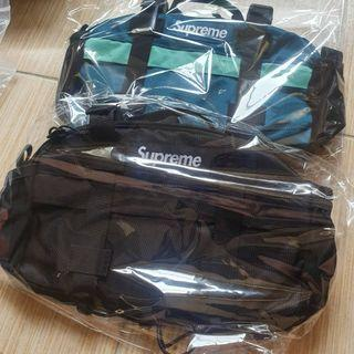 Supreme 19FW Waist Bag 藍色