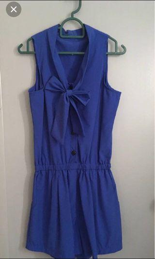 #betul2free Blue jumpsuit