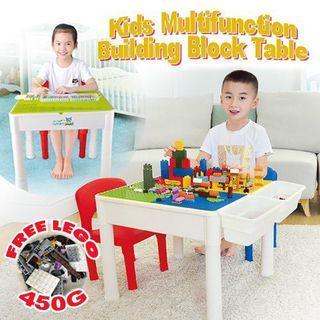 Kids Multifunction Table