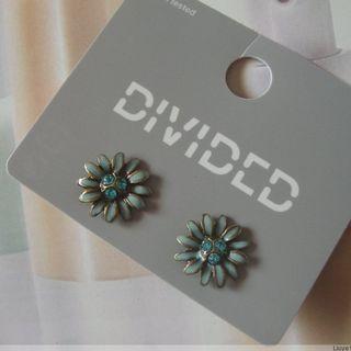 全新 歐美時尚可愛小花造型耳環 氣質百搭 花朵