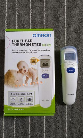 Omron MC-720 Thermometer Infrared - Thermometer Digital Anak