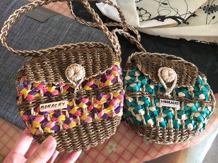 長灘島編織小包