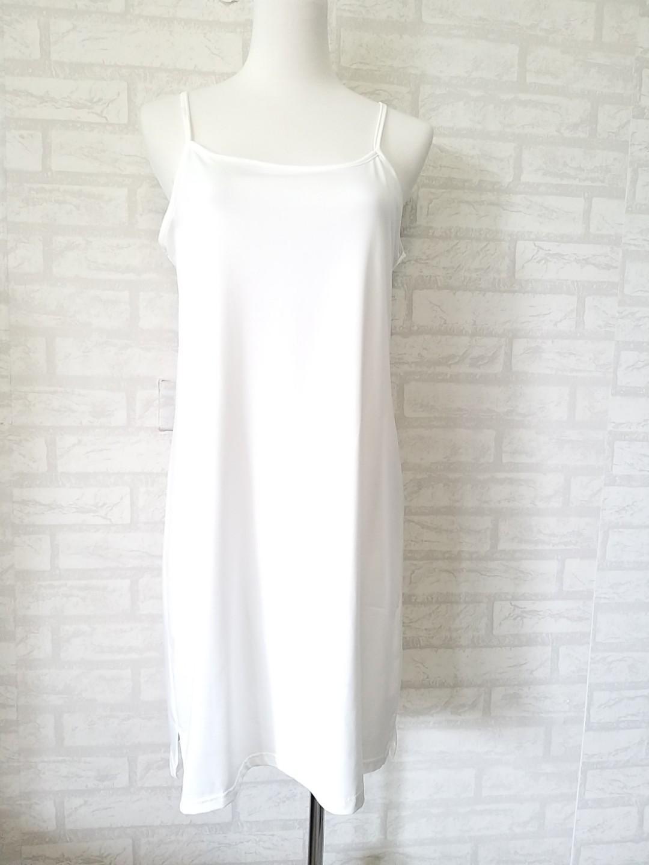 我最便宜👍~純淨白100%棉質寬鬆版連身長裙