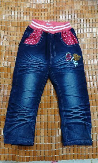 女童牛仔長褲(5-7歲)
