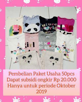 Paket Usaha Baju Branded Anak