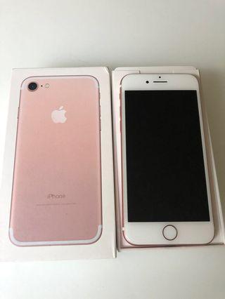 Iphone 7  full set ori, personal use