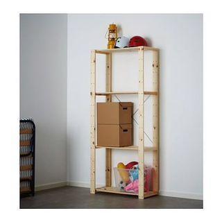 IKEA wood kitchen rack