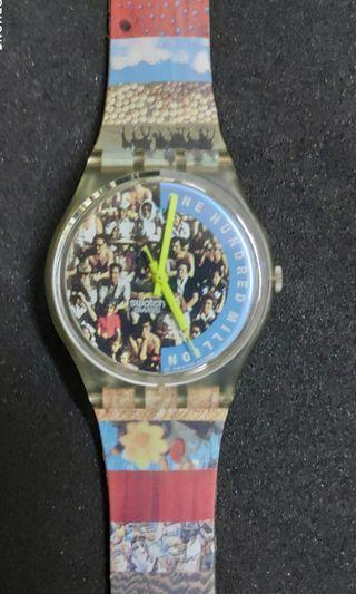 Swatch Vintage-The Hundred Million People