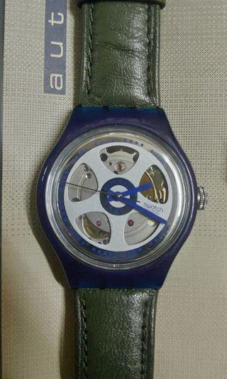 Rm350 only after discount!!Swatch Auto SKELETON AG1991 AUTO with 23jewels