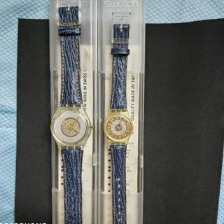 SWATCH COUPLE COMBO New with box Rm370 only