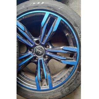 Sport Rim 17x5x114.3 with 70%Tyre/RM700 for rim only!!NEGO