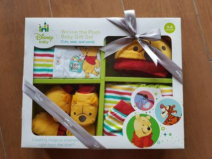 Disney Baby Winnie The Pooh Baby Gift Set