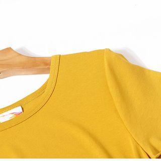 美國 LuLaRoe 撞色洋裝 長版T 前長後短