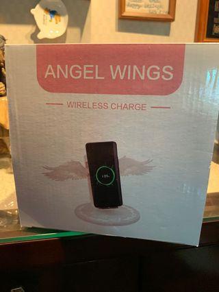 天使翅膀無線充電盤
