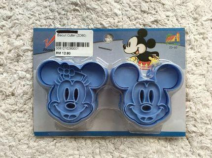 Mickey & Minnie Disney Cookie Cutter and Embosser #1111