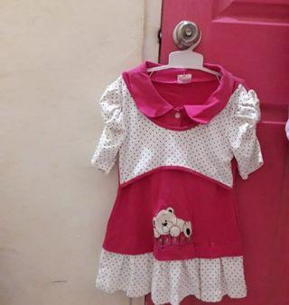 Dress anak umurv3-4thn