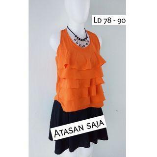 (NEW) Orange blouse
