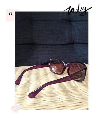 Preloved Purple Sunglasses