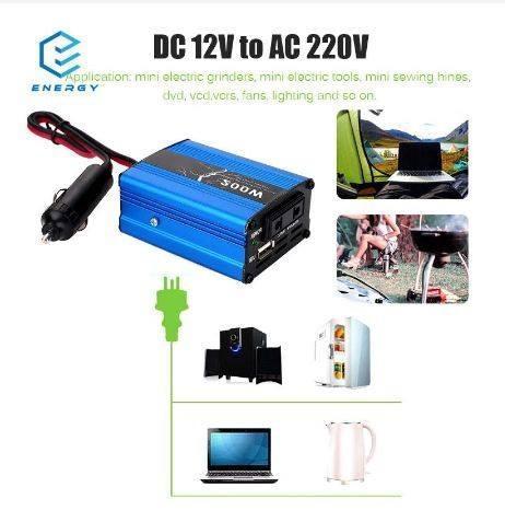 12V Car Power Inverter 200W Peak Charger