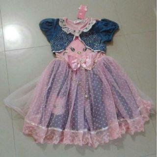 Dress anak umur 3-4thn