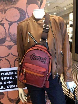 Authentic coach vale sling pack