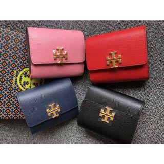 Authentic Tory Burch kira Ford small Wallet