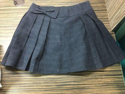 學院風秋冬短裙