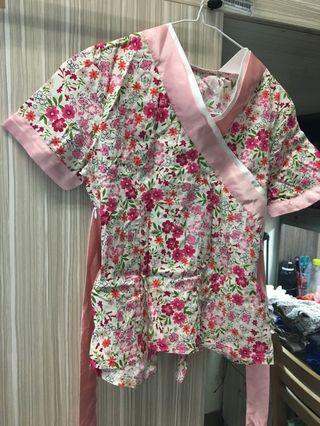 旗袍式上衣