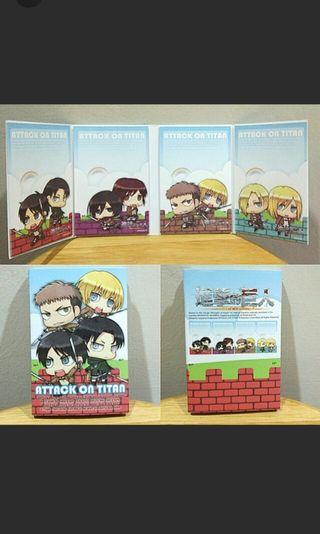 (Authentic) SNK Anime Notepad #1010