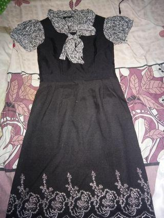 Mididress black set