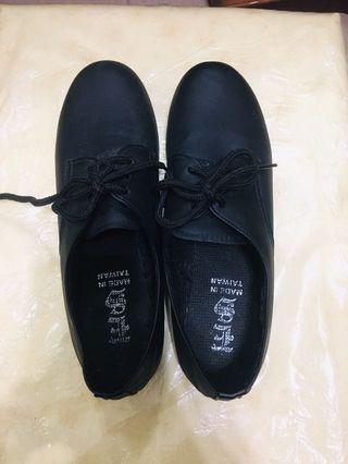 韓版黑色紳士鞋