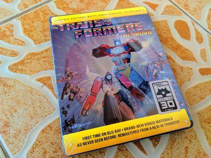 Transformers The Movie 30th Anniversary Steelbook Blu Ray For Sale