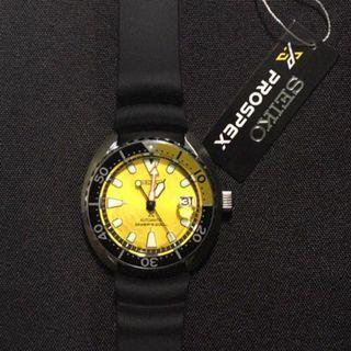 DIWALI SALE !!! SEIKO ZIMBE YELLOW TURTLE + Free Gift (LIMITED , 999 PCS)