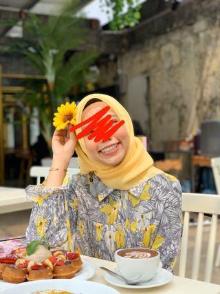 Pomelo Floral Top/Blouse