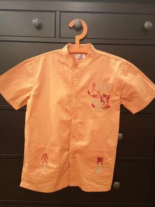 Boys Chinese shirt
