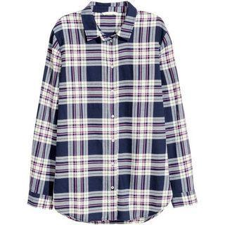 hnm checked shirt