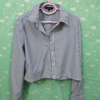 Crop top striped shirt -Nichi