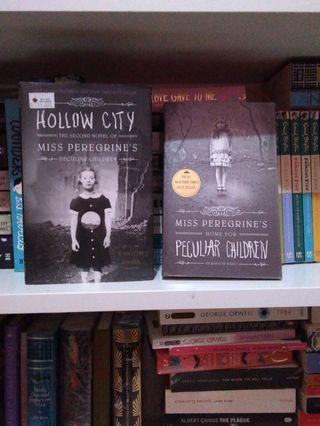 Miss peregrine hollow city hardcover