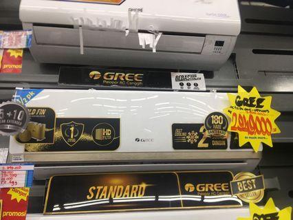 Kredit AC GREE 1/2 PK, Bisa Kredit Cukup Bayar Admin Saja