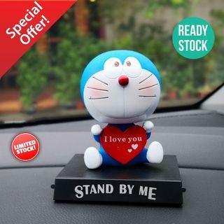 Cute Doreamon I Love U Shaking Head Car Toy