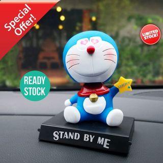 Cute Doreamon Lucky Star Shaking Head Car Toy