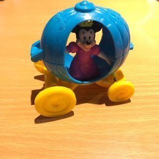 麥當勞絕版玩具 1997年米妮魔法車 花車