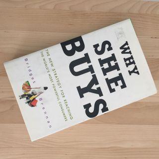 Why She Buys ,author by Bridget Brennan