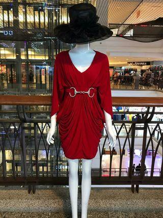 Ladies dress elastic
